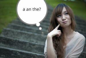artikle a an the