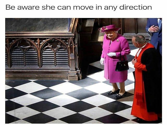 wywiad z królową elżbietą II