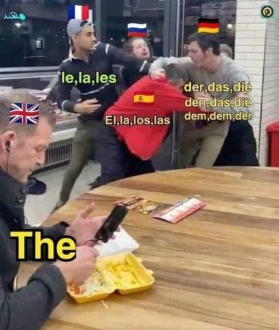 przedimki a an the angielski