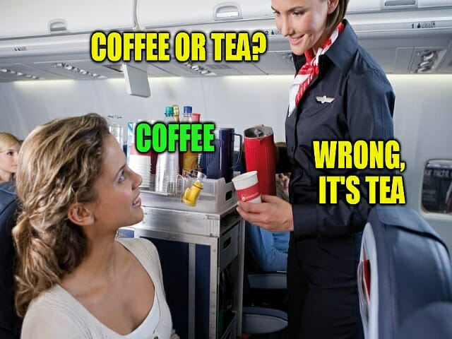 bledy najpopularniejsze w nauce jezyka angielskiego, kawa czy herbata