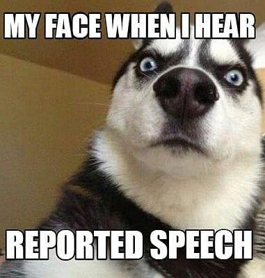 mowa zależna reported speech angielski
