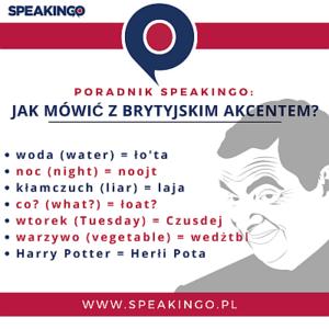 jak mówić z brytyjskim akcentem angielski jest trudny