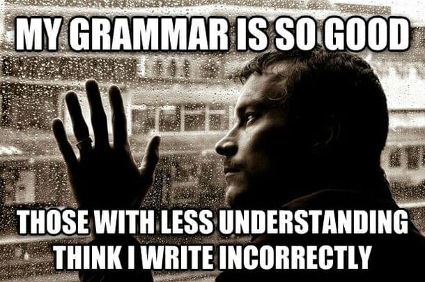 gramatka angielska nie warto