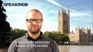 Speakingo opinie Grzegorz Kuśnierz