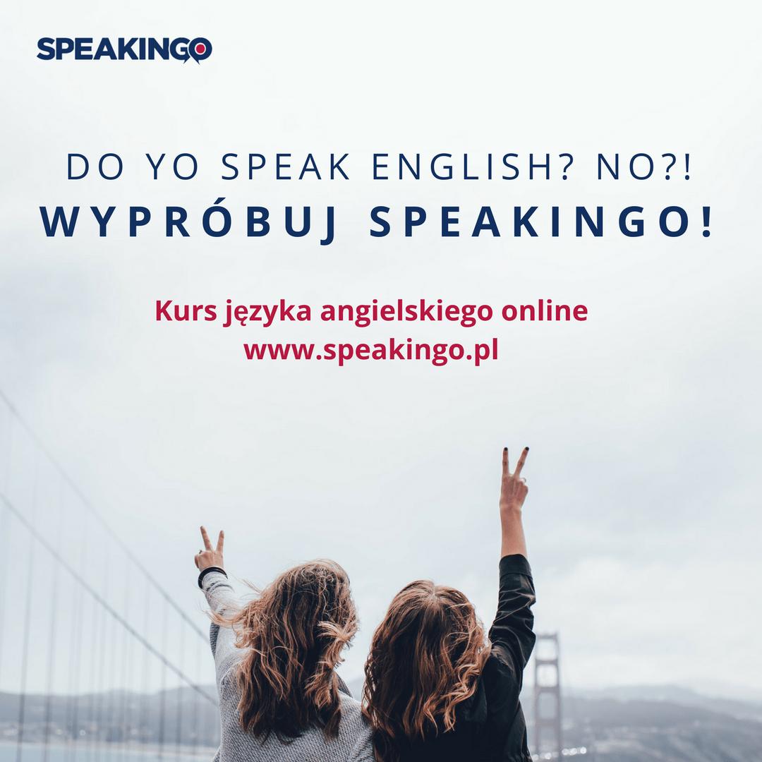 kurs mówienia po angielsku speakingo
