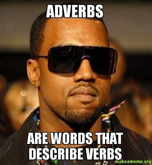 przysłówki adverbs angielski