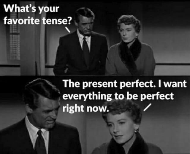czas present perfect