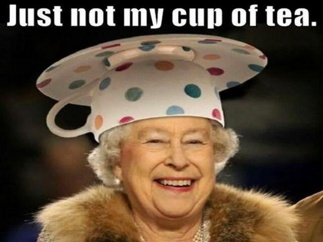 czas na angielska herbata