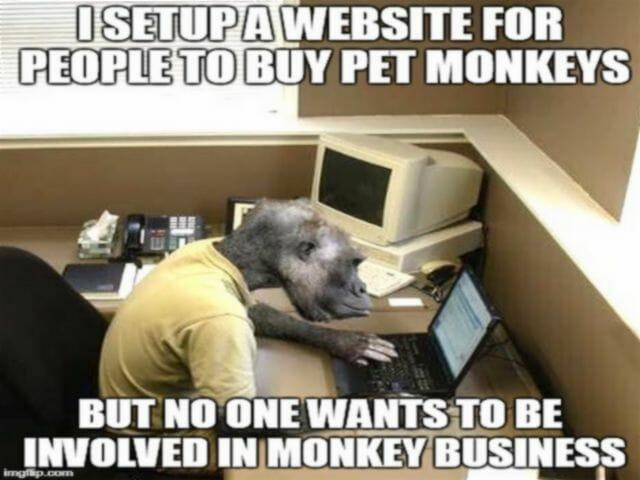 biznesowe idiomy angielskie monkey business