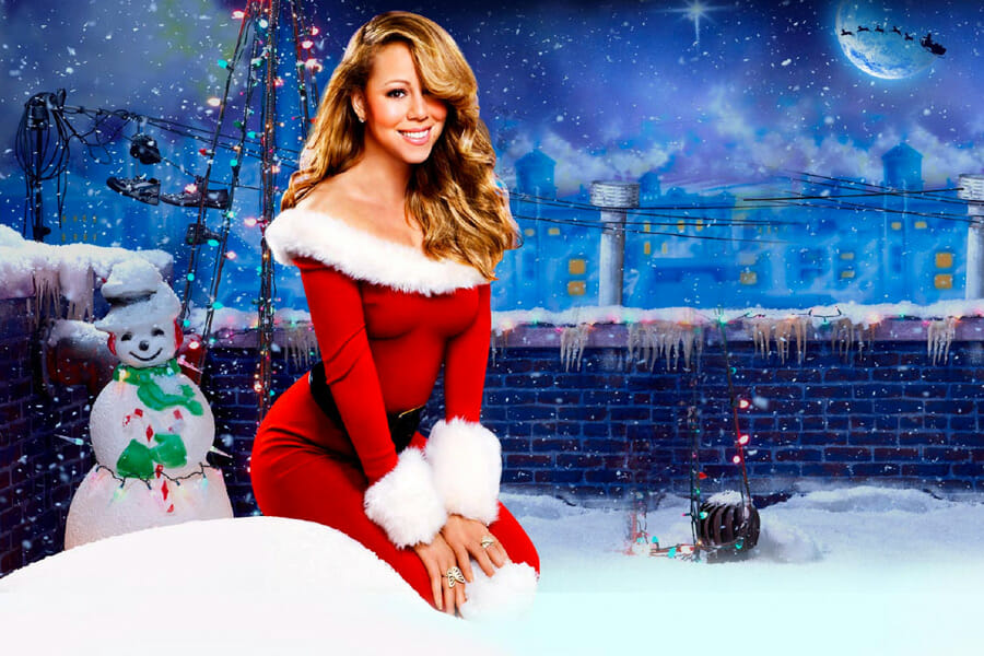 mariah carey, all i want for christmas is you