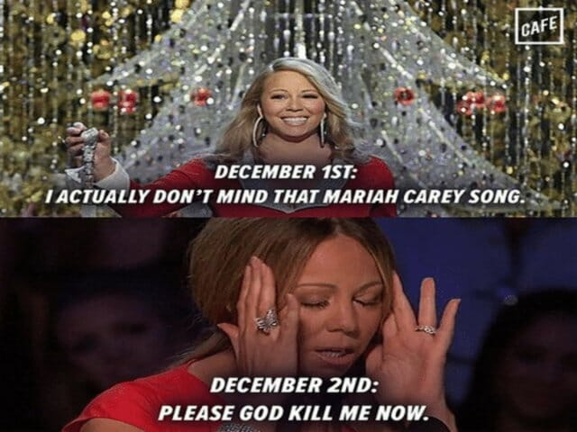 mariah carey all i want for christmas is you angielski tekst piosenki po polsku z gramatycznym komentarzem