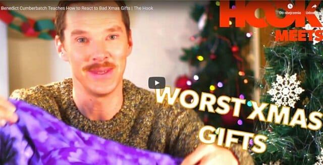 nietrafiony prezent, niechciany prezent, lekcje aktorstwa, benedict cumberbatch