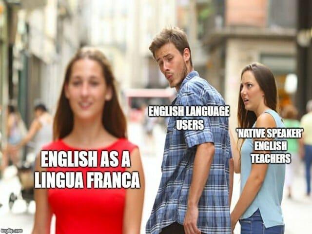 lekcje angielskiego z native speakerami, zalety i wady