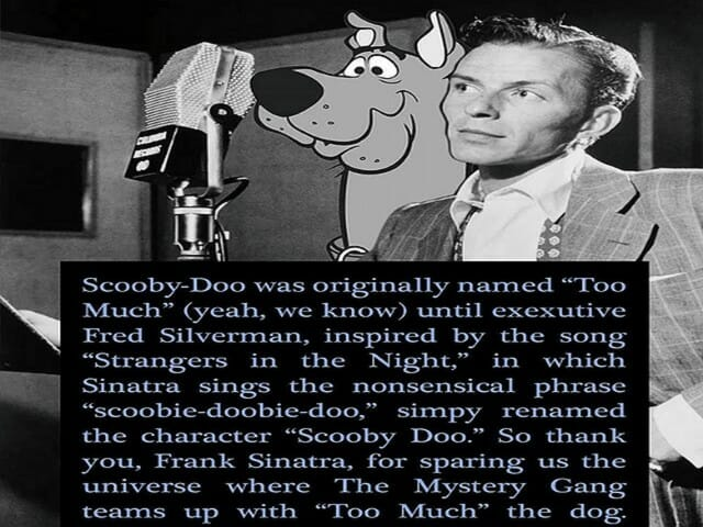 do does doing did done, Scooby Dooby Doo
