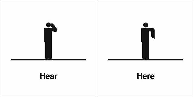 verbs of senses angielski homofony