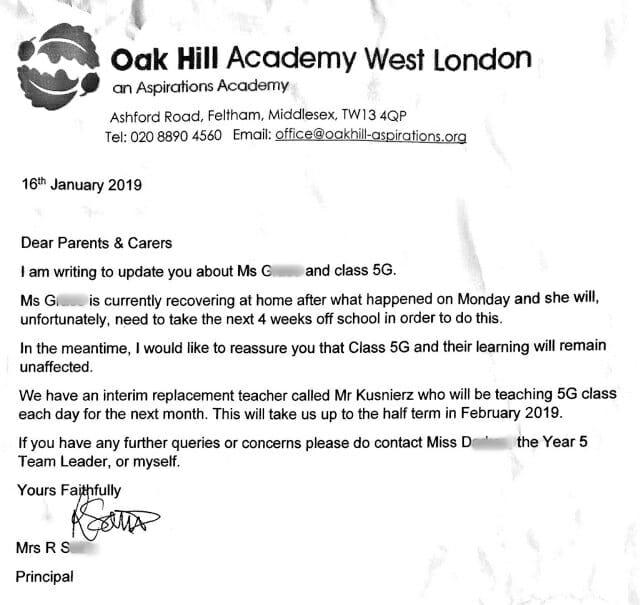 biznesowy list po angielsku edukacja szkola