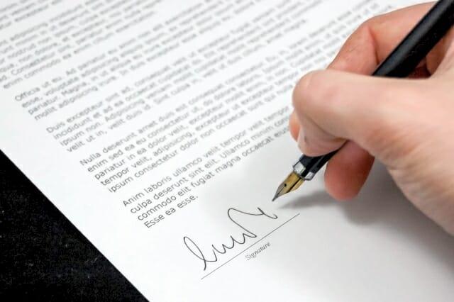 biznesowy list po angielsku, wzór, przykład