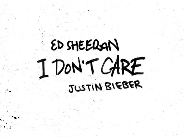 ed sheeran, justin bieber, I don't care, tekst, tlumaczenie, angielski, polski