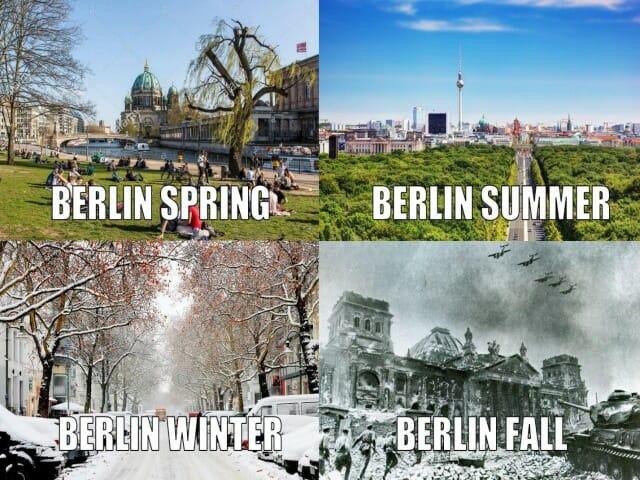 pory roku po angielsku
