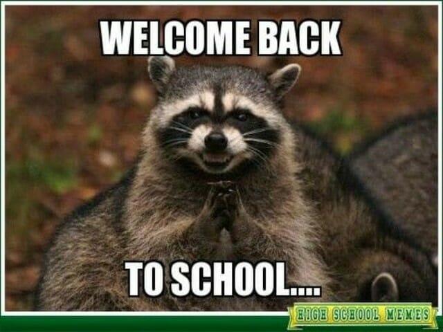 back to school, rok szkolny, nauka języka angielskiego