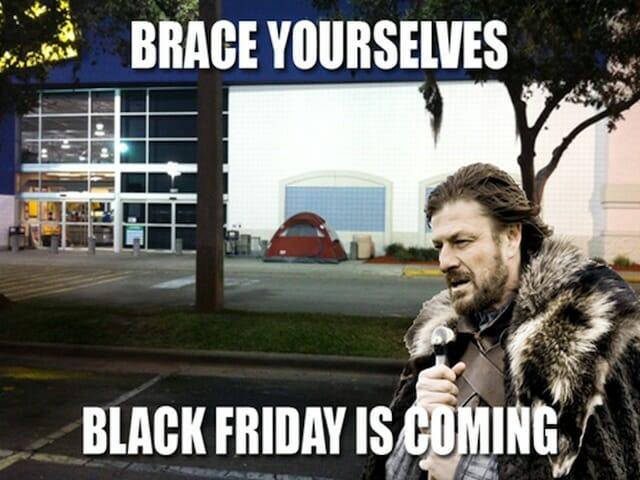 black friday, czarny piatek