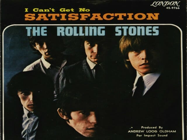 i cant get no satisfaction, the rolling stones