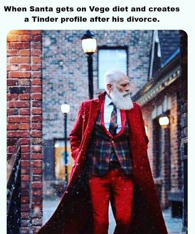 prezent na mikołajki, santa claus, smieszne memy po angielsku, 6 grudnia