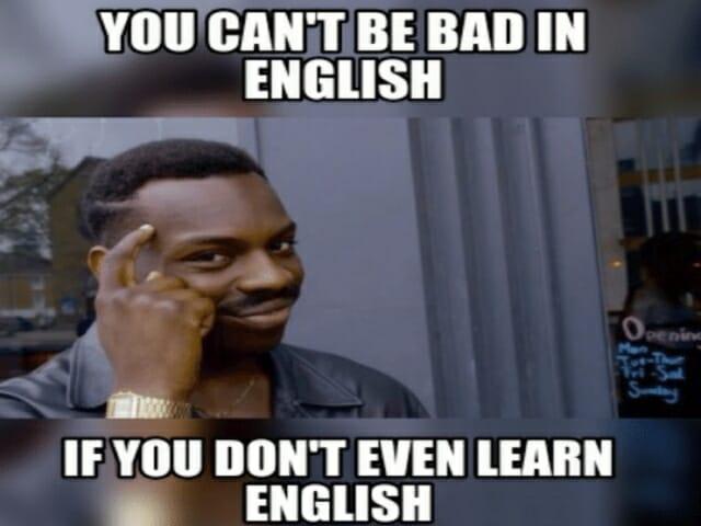 dlaczego nie mogę nauczyc sie jezyka angielskiego?