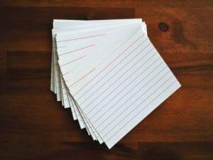 flashcards, fiszki do nauki języka angielskiego