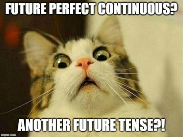 futuro perfecto continuo , future perfect continuous