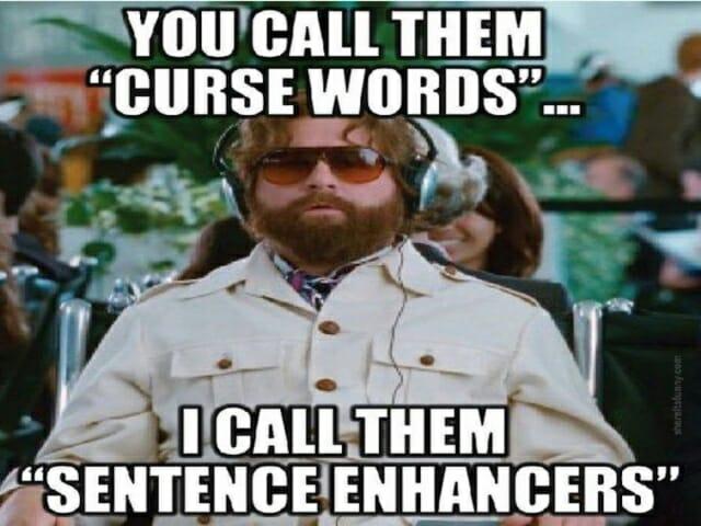 przeklenstwa wulgaryzmy po angielsku, swear words