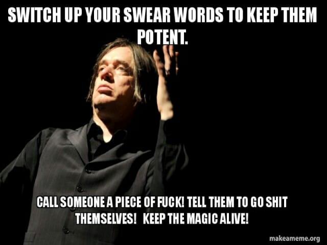 przeklenstwa i wulgaryzmy po angielsku, swear words
