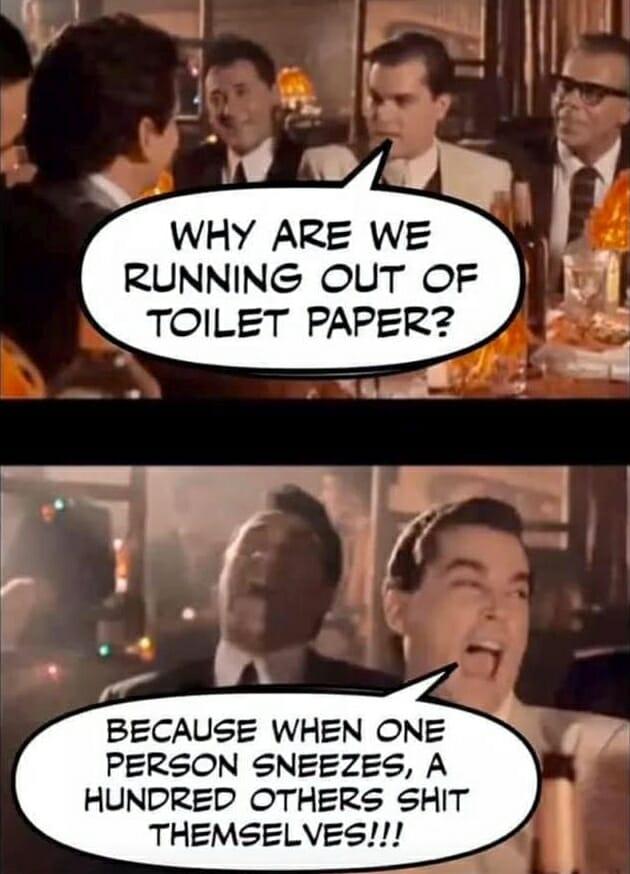 papier toaletowy, koronawirus, amerykanie