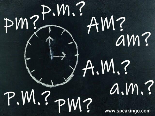 Час на английском языке: o'clock