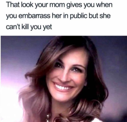 spojrzenie, dzień matki, śmieszne memy o rodzicielstwie dzieciach i rodzicach po angielsku