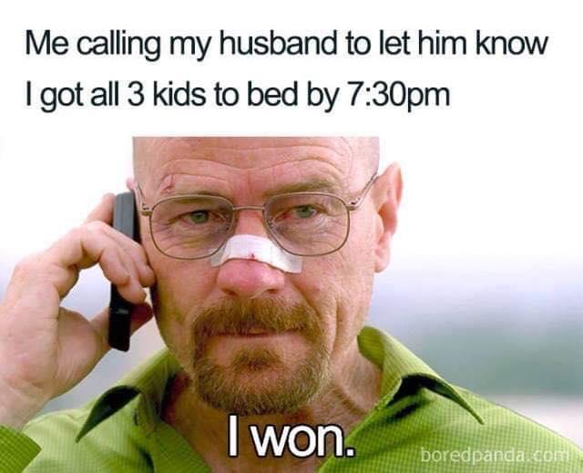 memy o rodzicielstwie dzieciach i rodzicach po angielsku spać