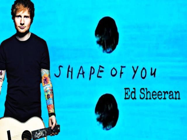 shape of you, ed sheeran, tekst i tłumaczenie po polsku, piosenki, nauka angielskiego