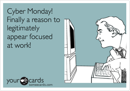 Cyber Monday poniedziałek, promocja, kurs języka angielskiego online, koncentracja