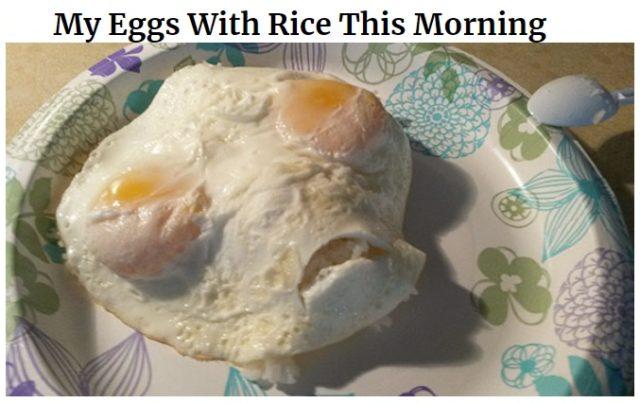 gotowanie po angielsku w memach do nauki, jajka