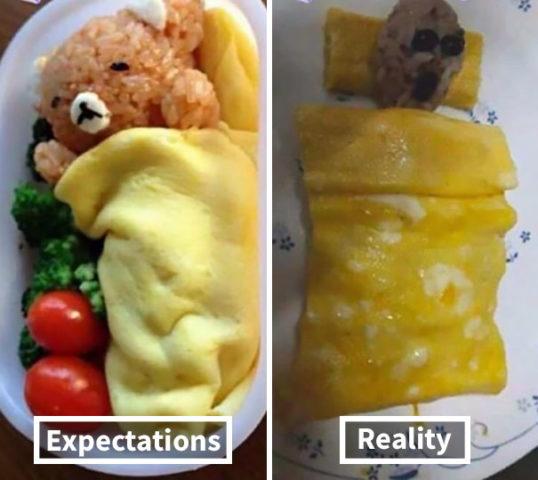 gotowanie po angielsku w memach do nauki, niedźwiedź