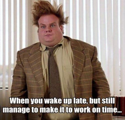 przepraszam za spóźnienie do pracy po angielsku środa grubas
