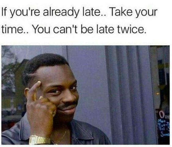 przepraszam za spóźnienie do pracy po angielsku myśli