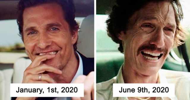angielskie memy 2020 podsumowanie roku śmieszne daty