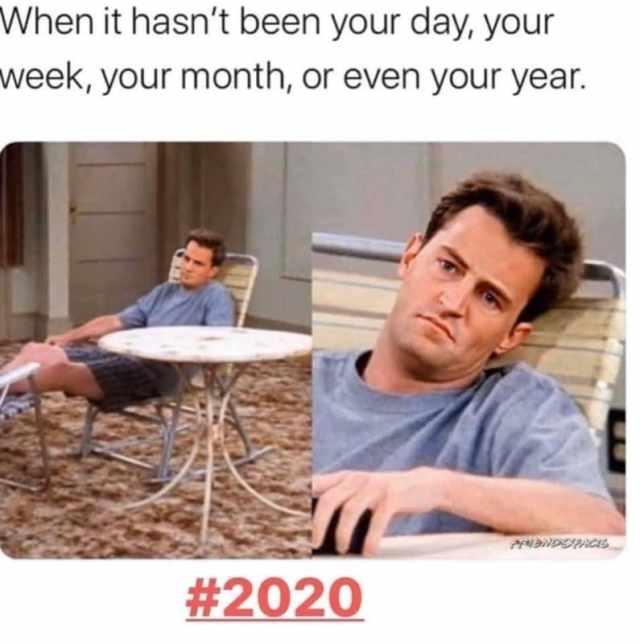 angielskie memy 2020 podsumowanie roku śmieszne przyjaciele