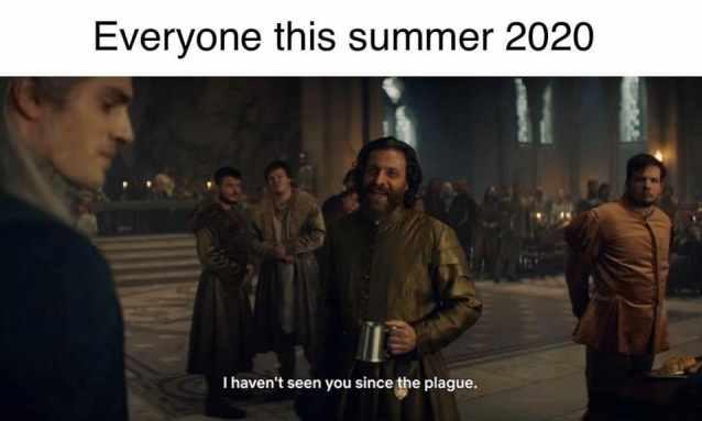 angielskie memy 2020 podsumowanie roku śmieszne witcher