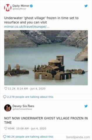 angielskie memy 2020 podsumowanie roku śmieszne wioska