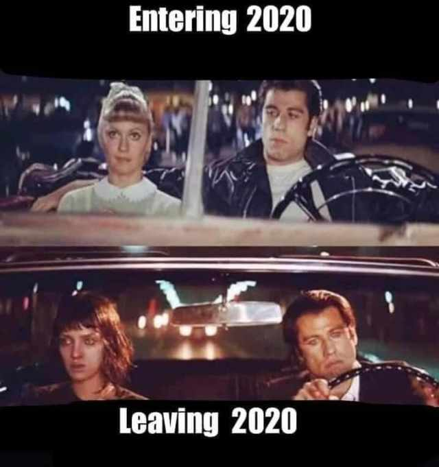 smieszne memy 2020 podsumowanie roku pulp fiction