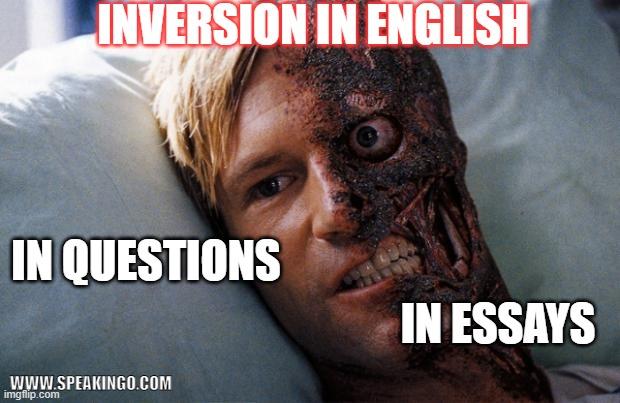 inversja, szyk przestawny, jak tworzyć pytania, angielski, stylistic inversion