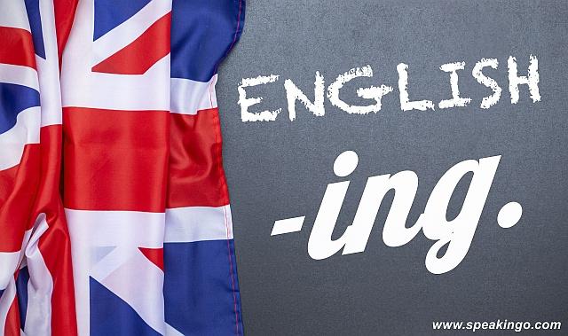 kiedy dodajemy końcówkę -ing w języku angielskim, sufix, ending
