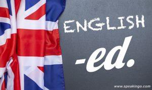 kiedy dodajemy końcówkę -ed, angielski, present perfect, past simple, strona bierna, przymiotniki, adjectives